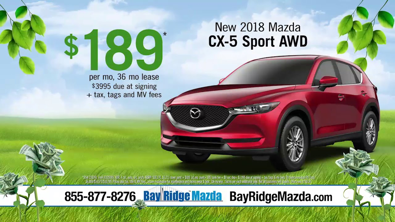 Bay Ridge Mazda >> Brma1804a30h Green Up Mazda A30 V01 Youtube