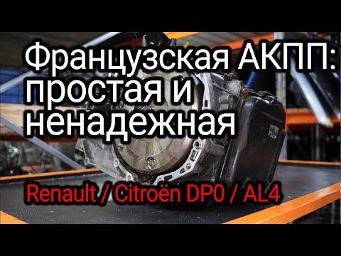 """Что горит и глючит во французском """"автомате"""" Renault (DP0 / Peugeot Citroёn AL4))"""