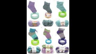 Beginner Loom Knit Course,  House socks week one - Cuff
