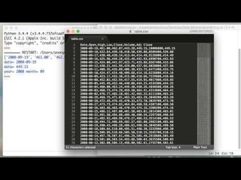 Python Data Mining