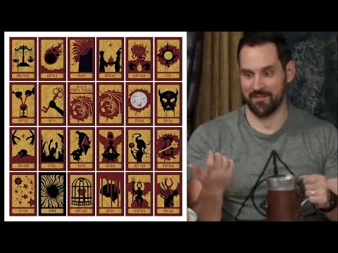 Critical Role - Forgotten Gem Grog finds the deck of many things