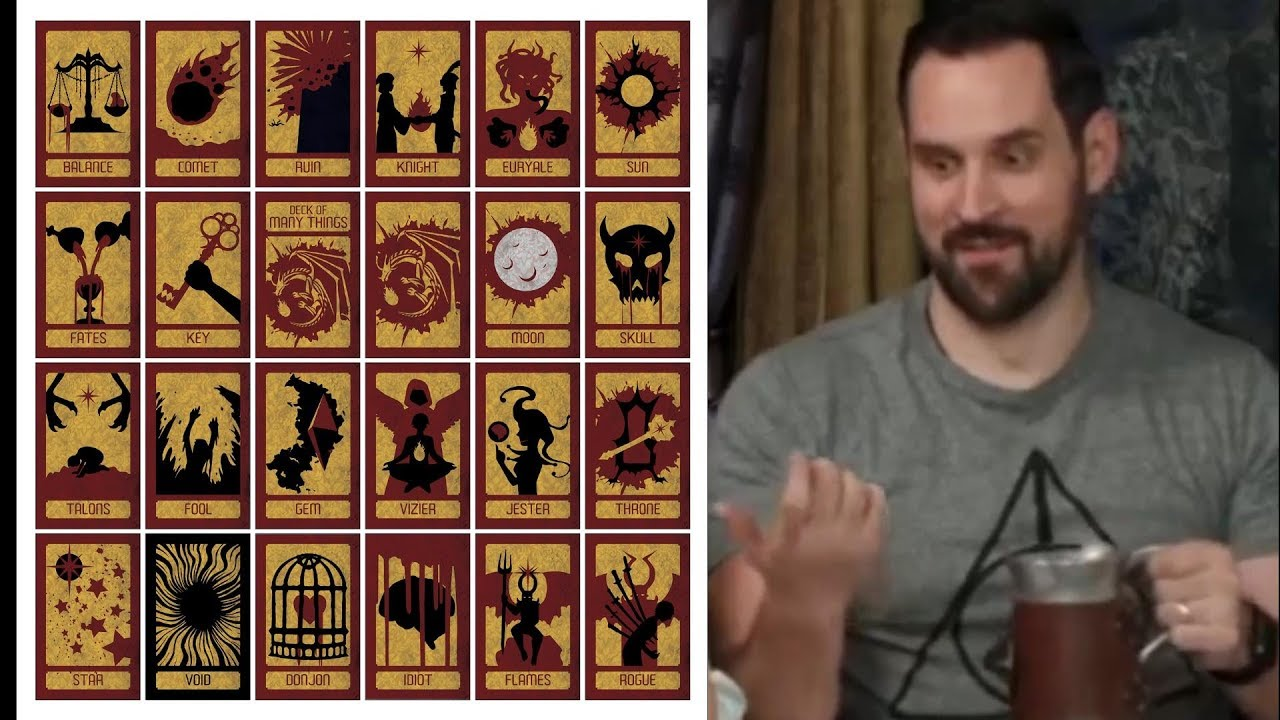 Critical Role Forgotten Gem Grog Finds The Deck Of Many Things