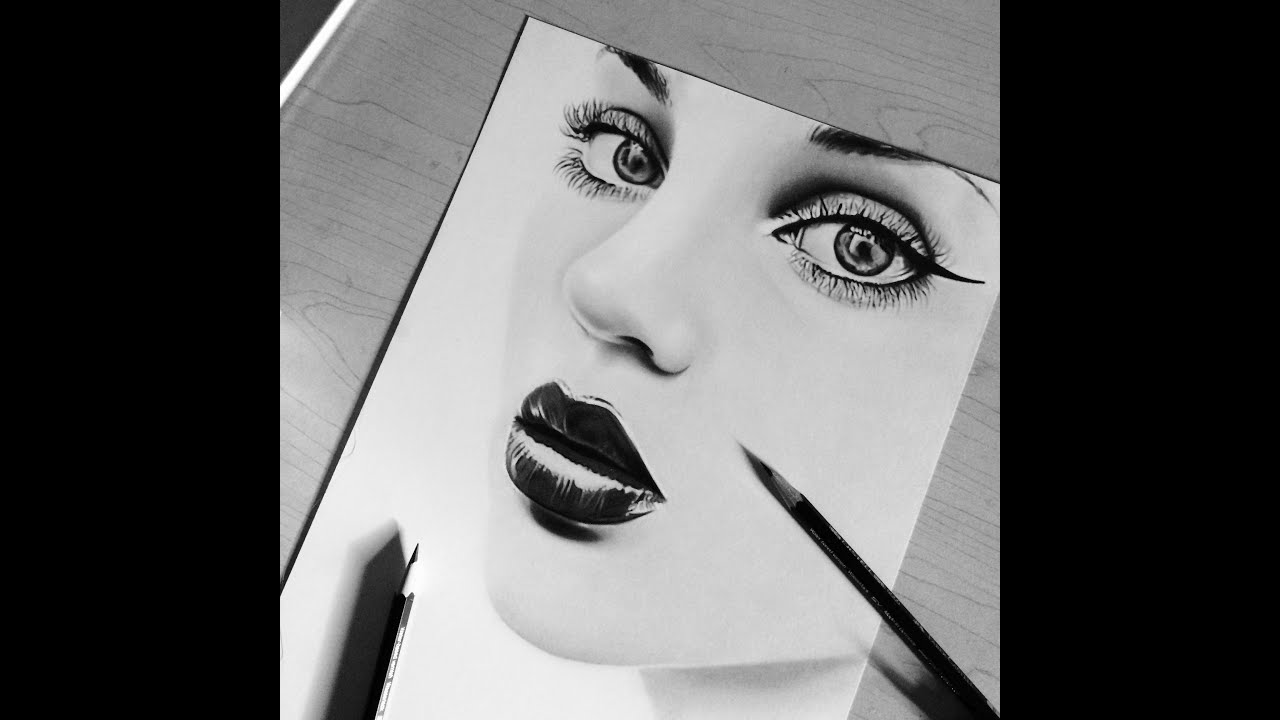 Realistic Drawing - Hope In Heart Rajacenna