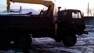 Кран- манипулятор на базе КАМАЗ   Продажа(, 2016-02-07T15:03:30.000Z)