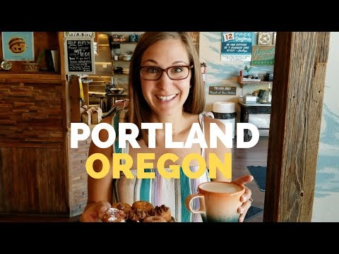 Eat and See Portland Oregon /Full TIme RV Living / Travel Vlog
