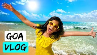 GOA VLOG | #Travel #Taj #Beaches #Sports #DIML | MyMissAnand