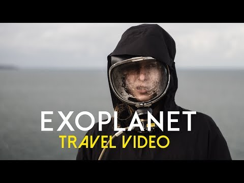 VISITING A BREATHTAKING NEW WORLD 🌏 Exoplanet Travel Video