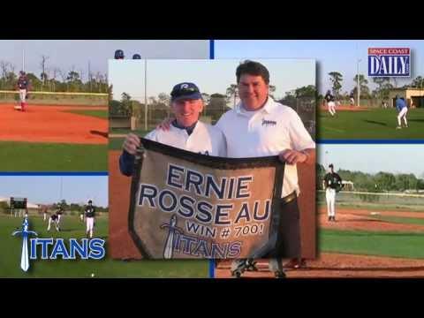 Space Coast Sports Hall of Fame 2013 - Ernie Rosseau