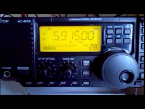 5915 kHz - ZNBC Radio One, Lusaka - Zambia