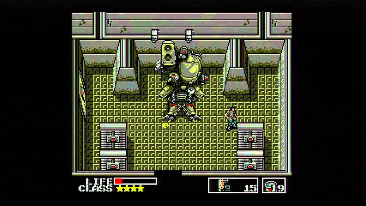 Historia serii Metal Gear Solid cz 1 Metal Gear 1987
