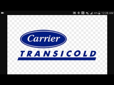 How to operate a carrier reefer - YouTube