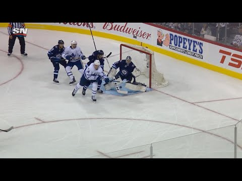 10/04/17 Condensed Game: Maple Leafs @ Jets