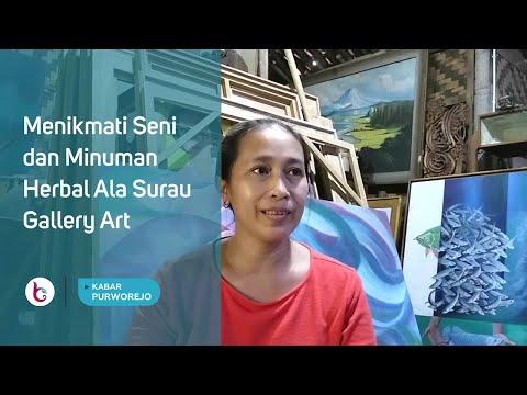 Menikmati Seni dan Minuman Herbal Ala Surau Gallery Art