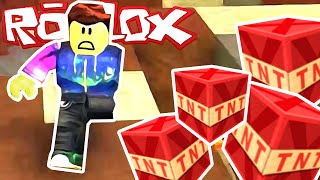 Roblox - My Arm Was Blown Off! (TNT Rush)