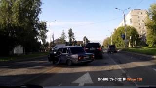 дтп Пермь Целинная - И. Франко 05 09 2014 (6-ка vs. BMW x5)