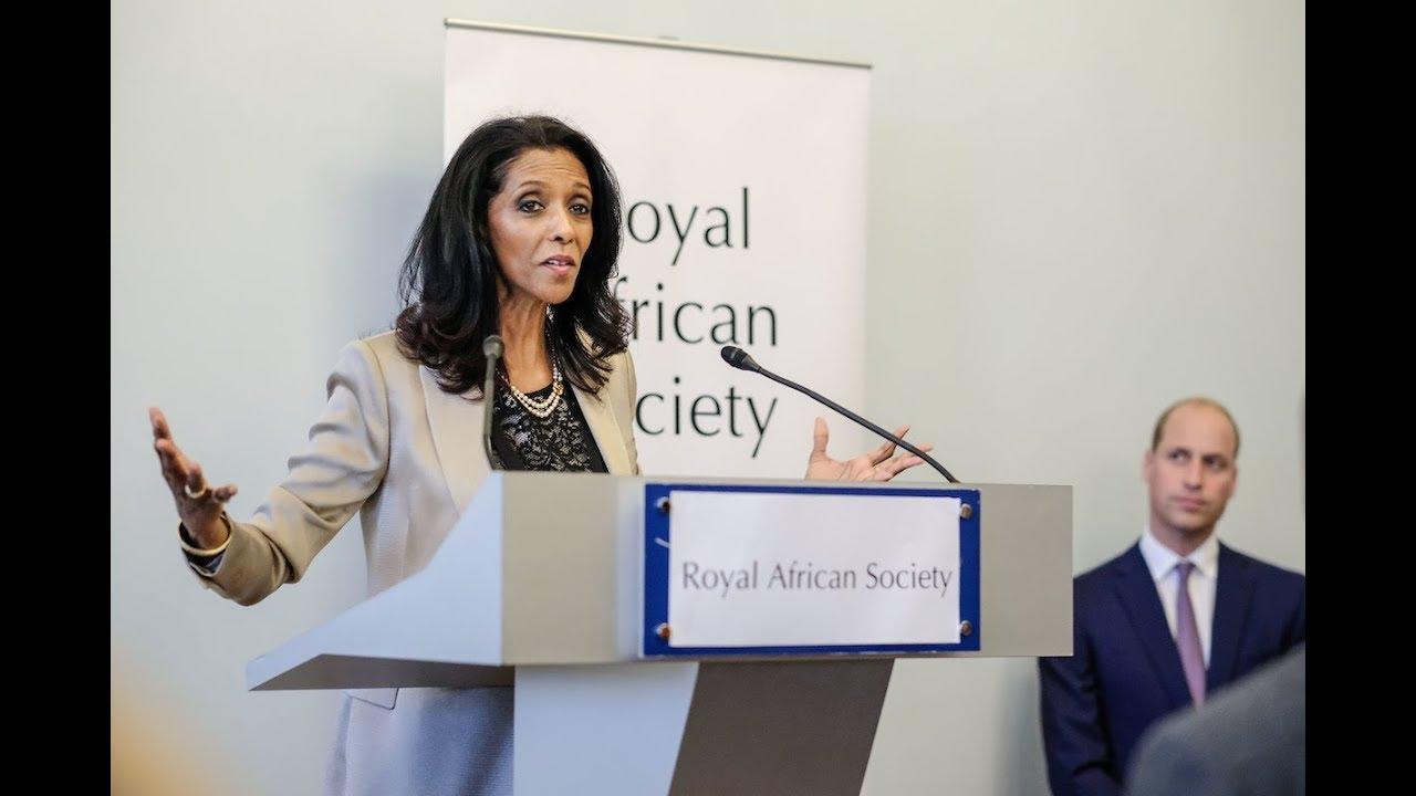 Zeinab Badawi on the Royal African Society - YouTube