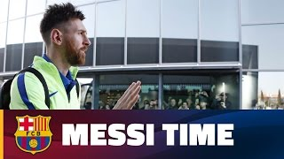 A day in the life of Messi thumbnail