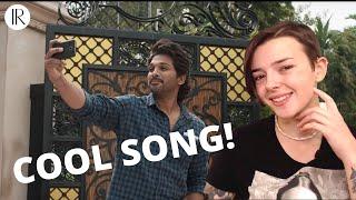 title-song-reaction-allu-arjun-trivikram-thaman-s