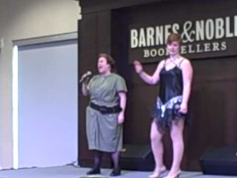 Bradetta Vines and Lindsey Larson Class From Chicago Barnes and Noble Event