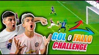 ¡GOL O FALLO CHALLENGE! *Le doy DINERO a mi HERMANO por ACIERTO*