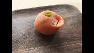 上生菓子 --- 橙實 かじつ
