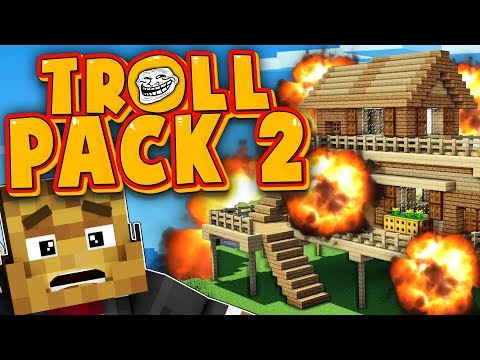 SOMEONE BLEW UP MY HOUSE RAGE QUIT - TROLL PACK SEASON 2 #13