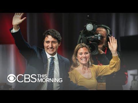 Canadian Prime Minister Justin Trudeau Wins Second Term