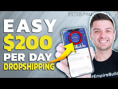 EASY $200/DAY Dropshipping Strategy For Beginners | Step By Step 2019 thumbnail