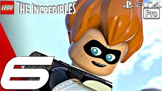 LEGO The Incredibles - Gameplay Walkthrough Part 6 - Above Parr, Island Showdown (PS4 PRO)