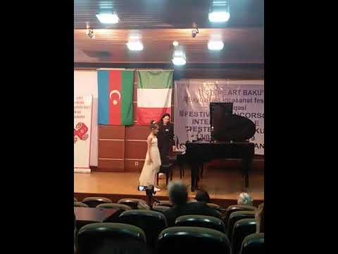 V.A.Mosart Sonata 12 (K.332)     Qara Qarayev Vals (Yeddi Gozel Baletinden) Inci Abbasova