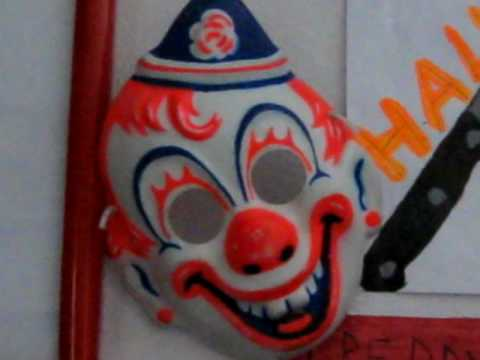 Halloween Clown Mask Michael Myers.Little Michael Myers Clown Mask