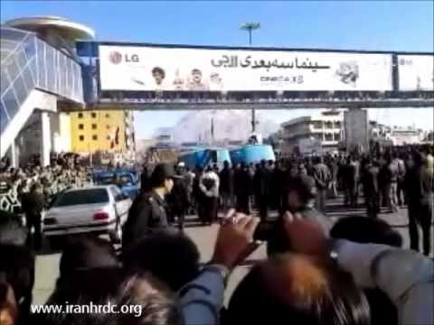 IHRDC Exclusive Full Length Video of Public Hanging of Three Men in Azadi Square in Kermanshah, Iran