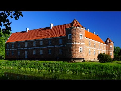 Loevenholm Castle, Murder and Fraud/ Djursland, Denmark/ Spring 2014