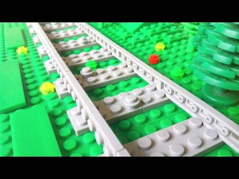 How To Build Trees, Grass & Plants For A Big LEGO Railway!