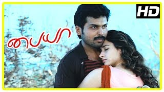 Paiya Movie Climax Scene   Karthi fights Milind Soman   Tamanna and Karthi unite   End Credits