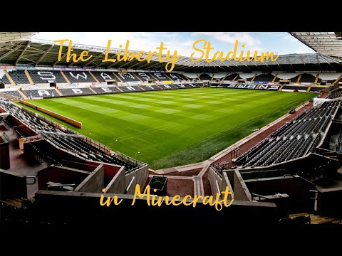 The Liberty Stadium In Minecraft (Xbox One)