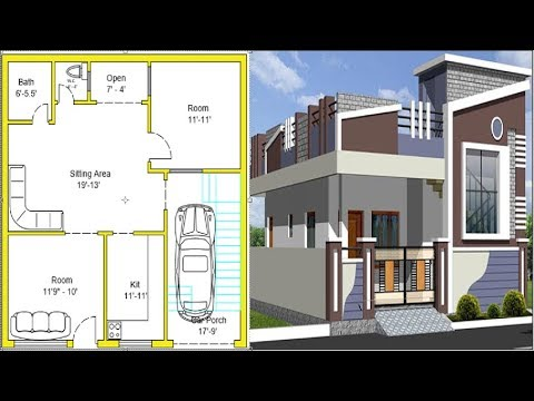 Best 2019 House Design Idea for 30 by 30 feet - Civil Engineering videos