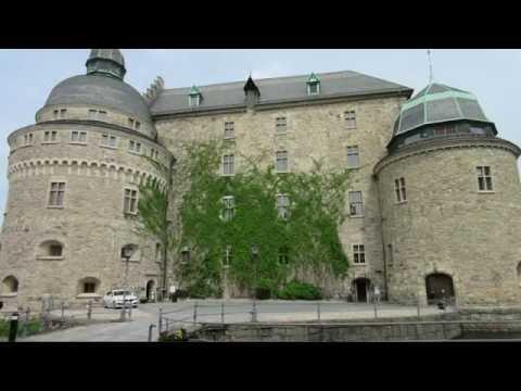 Schweden Schloss Örebro Castle Sweden Örebro Ørebro slott Slott Fluss Svartån Sverige