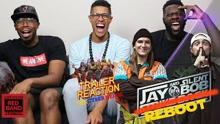 Jay And Silent Bob Reboot Comic Con Trailer Reaction