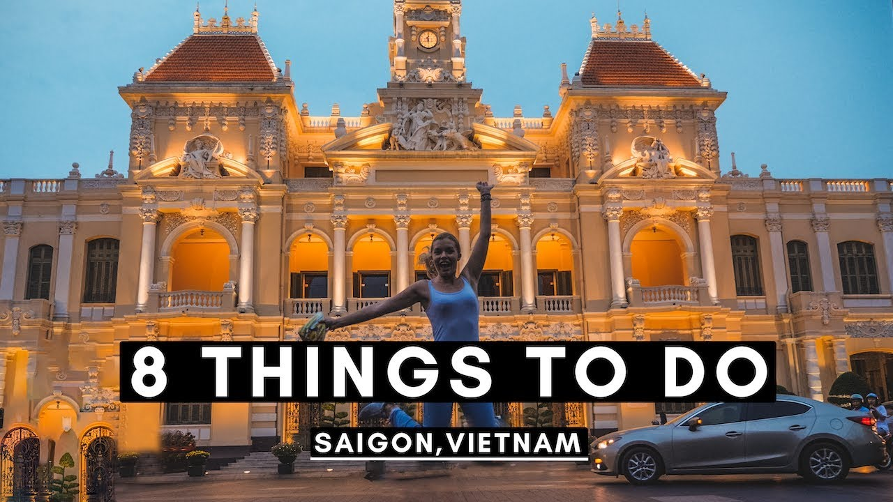 8 THINGS TO DO IN SAIGON (Ho Chi Minh City) | VIETNAM VLOG #016