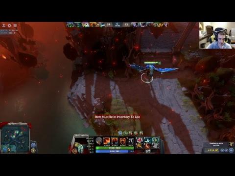 Segunda live de Dota 2 no canal.