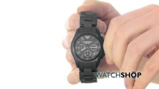 emporio armani men s ceramic chronograph watch ar1457