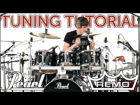 Drum Tuning Tutorial - How To Tune Drums the COOP3RDRUMM3R Way!