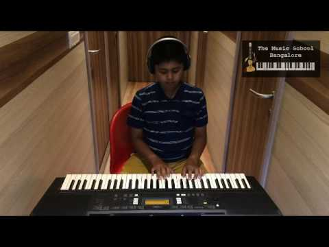 Scooby doo Keyboard cover by Shravan holla - The Music School Bangalore