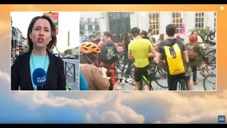 Cyclists will ride 10 kilometres in Brussels for climate change | GME