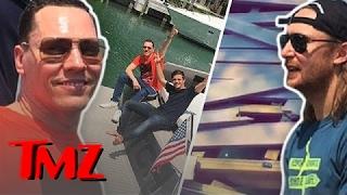 Tiesto Crashes Into David Guetta's Dock! | TMZ