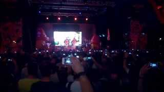 Primus and the Chocolate Factory with Fungi Ensemble - Oompa Augustus Milano 13-06-2015
