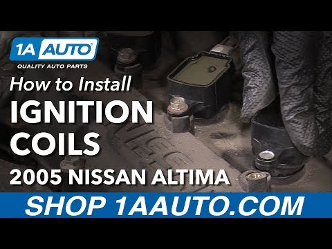 How to Replace Ignition Coils 02-06 2.5L Nissan Altima