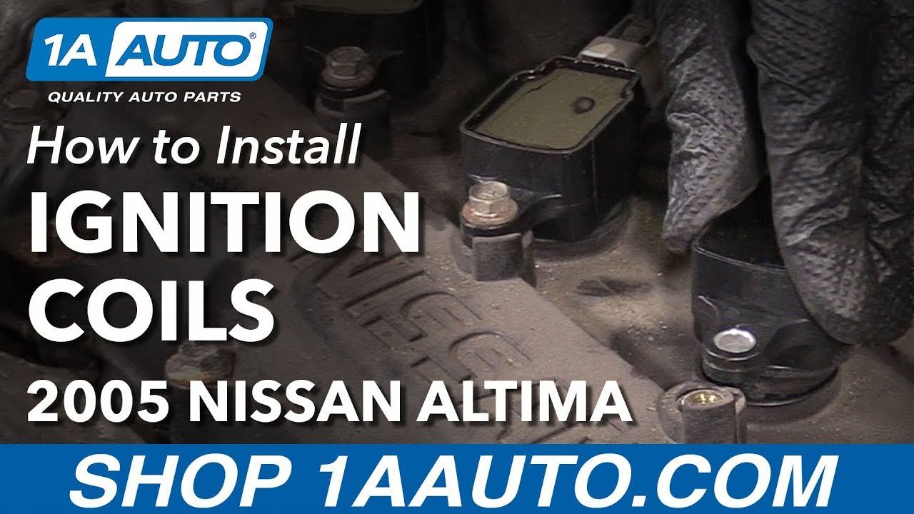 How to Replace Ignition Coils 02-06 2 5L Nissan Altima