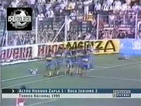 Altos Hornos Zapla 1 vs Boca Jrs 2 Torneo Nacional 1985 FUTBOL RETRO TV